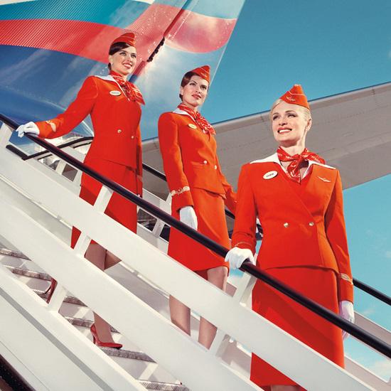 Форма стюардесс аэрофлота секс